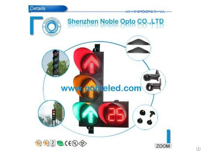 New Solar Powered Traffic Light With Countdown Timer