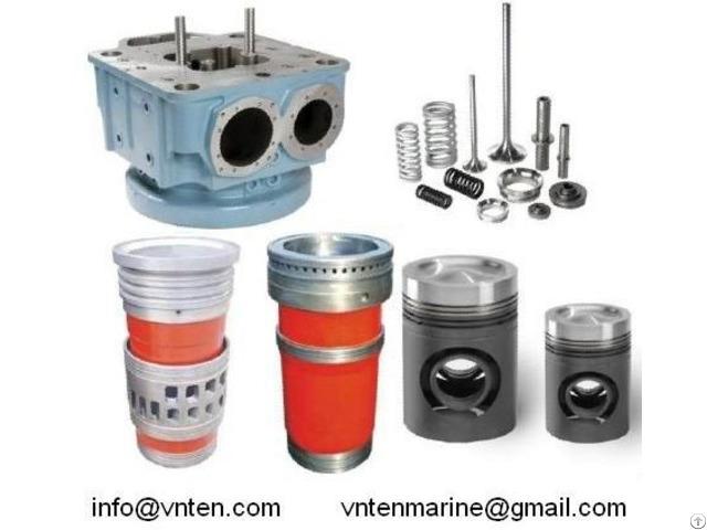 Cylinder Head Liner Piston S E M T Pielstick Hanshin