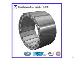 Permanent Magnet Electric Motor Silicon Steel Rotor Laminated Core