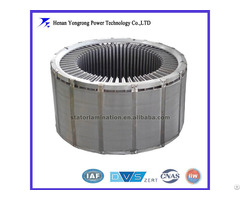 Silicon Steel Stator And Rotor Laminated Core For High Voltage Wind Generator