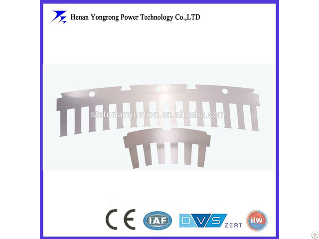 Customized Electrical Steel Motor Segment Lamination