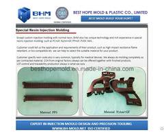 Special Resin Molding Nylon Gf Part Moulding