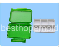 Plastic Pill Box Medicine Case Mold