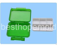 Plastic Pill Box Medicine Case Mold