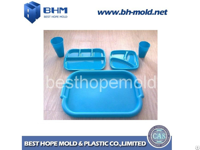 Plastic Combination Table Ware Injection Mould With Best Cost