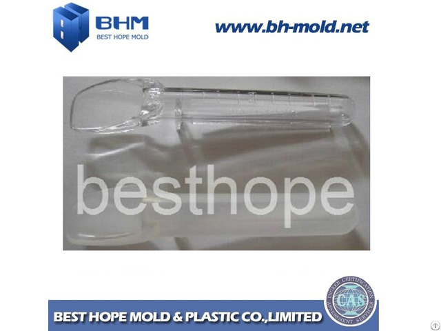 Plastic Baby Feeding Spoon Injection Mould With Safety