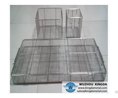 Storage Wire Mesh Basket