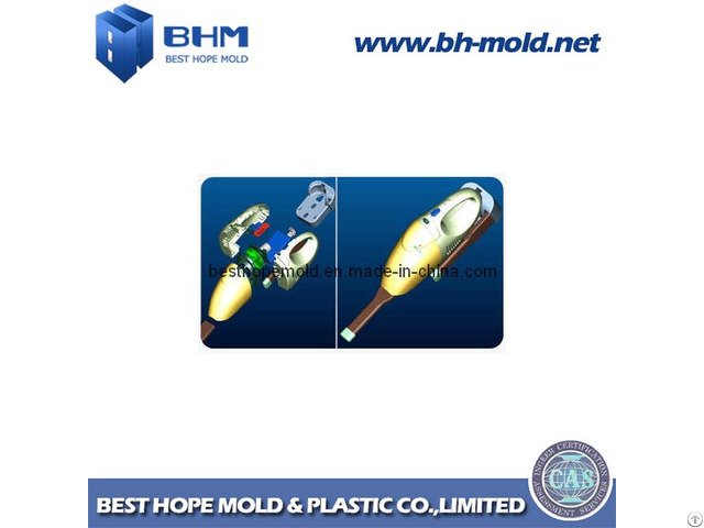 Custom Plastic Injection Mould For Cleaner Accessories