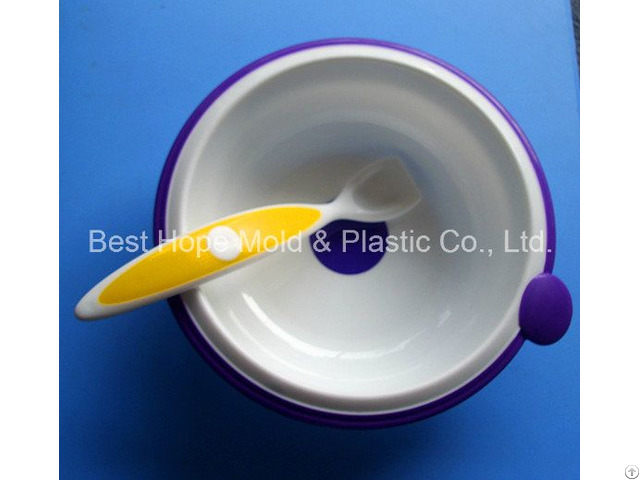Plastic Injection Bowl Mold For Home Use