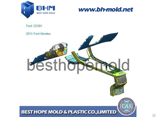 Auto Part Injection Mold Tooling