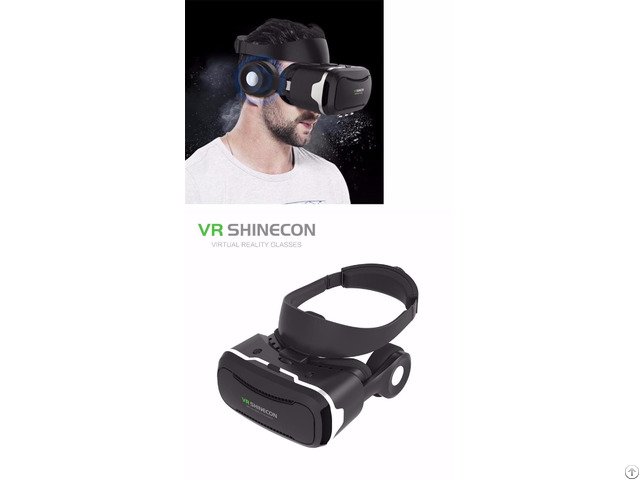 Imax Effect Virtual Reality Box With Hd Lens And Safety Feature