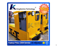 Well Equipped 3 5t Coal Mine Electric Trolley Locomotive