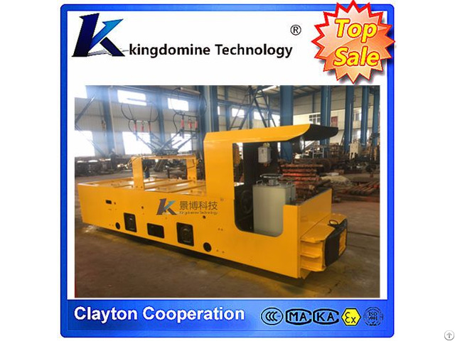 7t Well Equipped Underground Coal Mine Electric Trolley Locomotive
