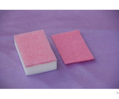 Melamine Foam With Scouring Pads Magic Sponge