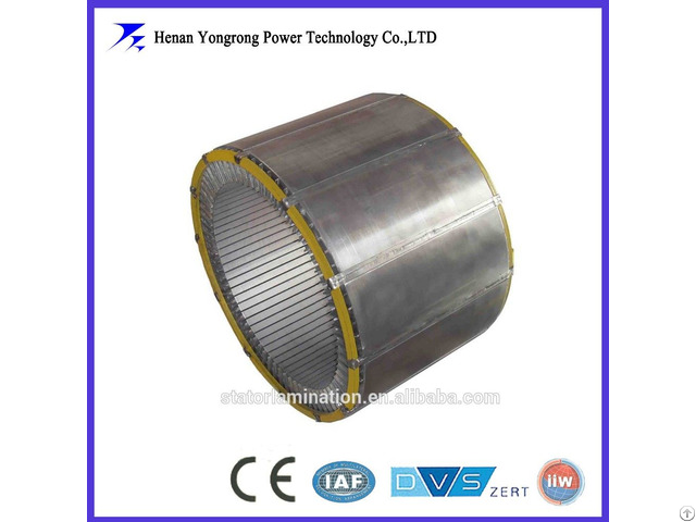 Motor Stator Rotor Laminated Iron Core