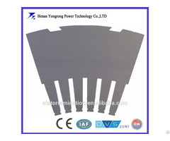 Customized Motor Generator Silicon Steel Segment Laminations