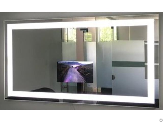 Smart Mirror With Illuminated Led Light Around
