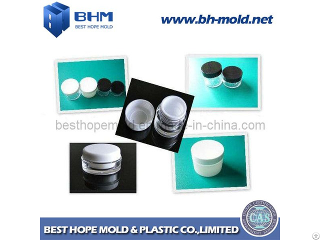 Mould For Plastic Container Cosmetic Jar Mold
