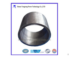 Permanent Magnet Generator Silicon Steel Stator Laminated Iron Core