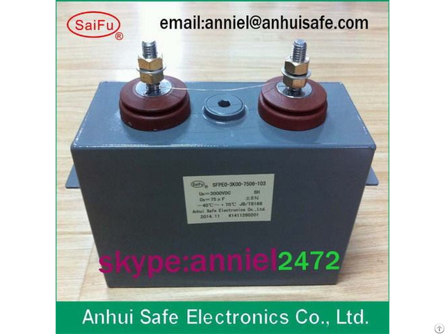 Capacitor State Owned Enterprises Quality Hot Sale 400uf1000uf 1500uf Best Price 3000vdc