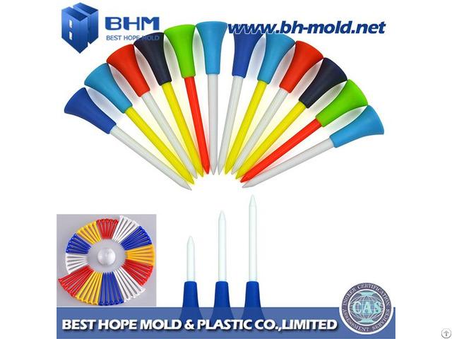 Plastic Golf Tee Injection Molding Producing