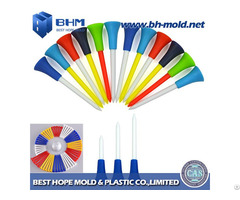 Plastic Golf Tee Injection Molding Producing