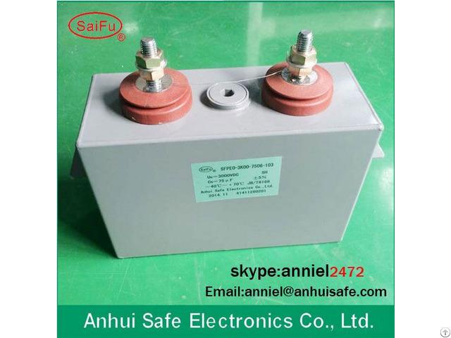 Mfo Series Impulse Capacitor 1000uf 600vac