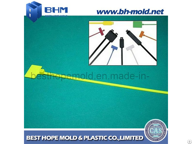 Flag Cable Ties Plastic Injection Mould