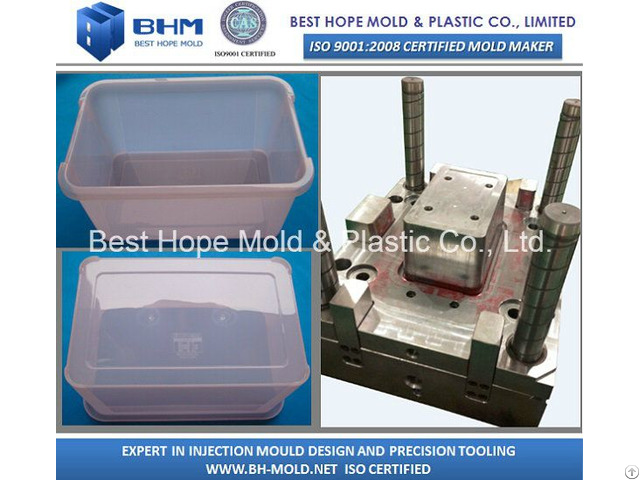 Plastic Storage Box Mould Container Tool