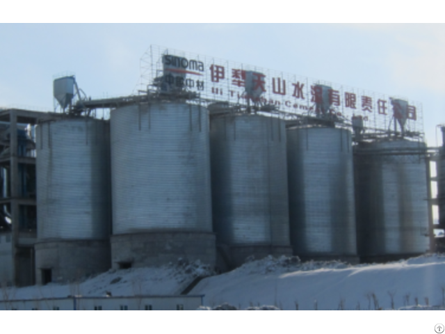 Steel Silo For Industry Powder Storage
