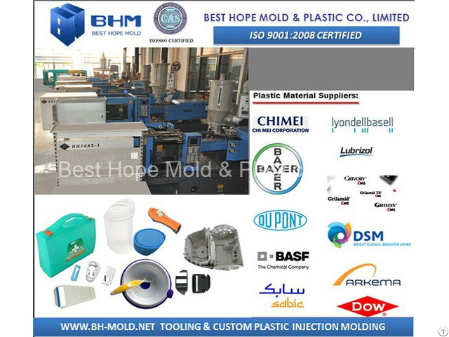 Custom Plastic Products Molding Factory In Shanghai