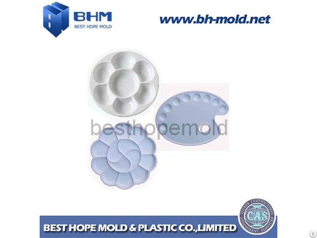 Plastic Injection Mold For Different Size Colorful Plates