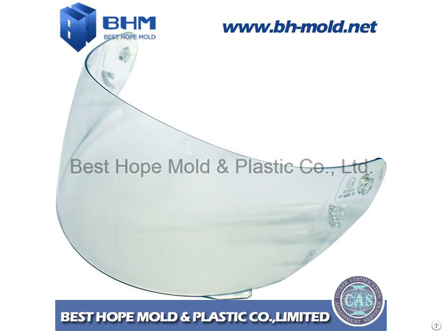 Plastic Injection Mold For Motorcycle Helmet Visor Mould
