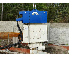Used Vibro Hammer Svr 25vm To Work On A Crane Or Piling Rig
