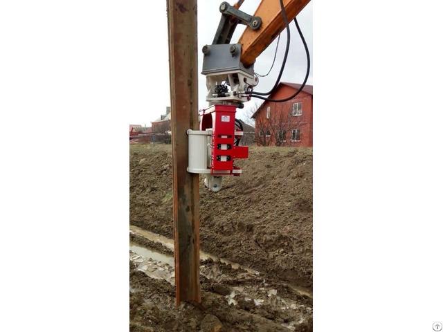 Vibro Hammer Ovr 70sg To Work On A Crane