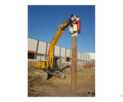 Ovr 60sg Vibro Hammer To Work On A Crane