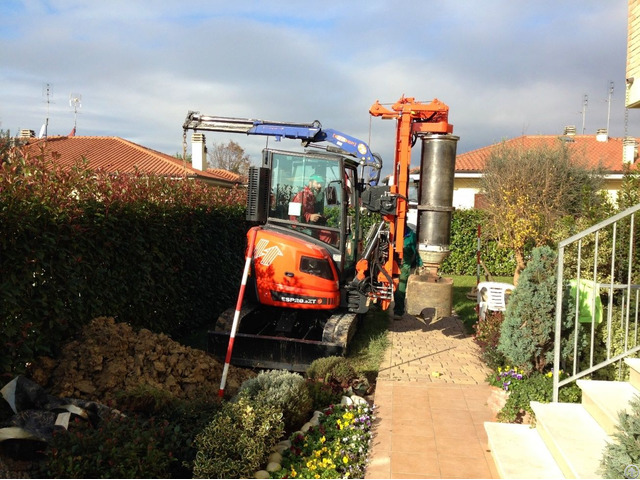 New Piling Drilling Rig Tescar Cf2