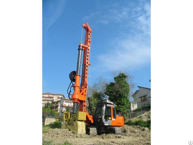 New Piling Drilling Rig Tescar Cf6 Dw