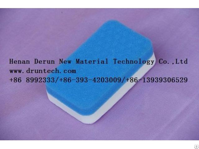 White Sponge Cleaning Melamine Foam Friendly Material