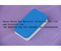 White Sponge Cleaning Melamine Foam Friendly Material