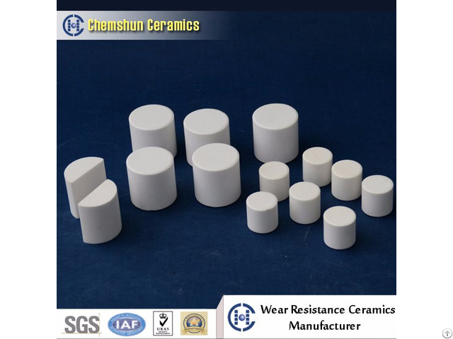 95% Ceramic Grinding Cylinder For Ball Mill With High Quality