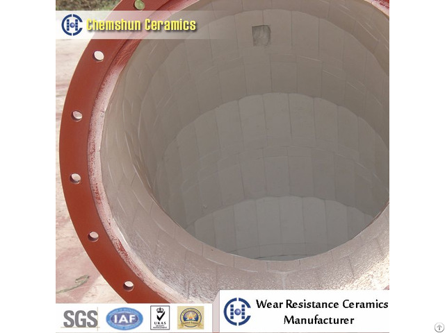 Wear Resistant Alumina Ceramic Lined Composite Steel Pipe