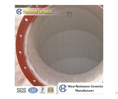 Wear Resistant Alumina Ceramic Lined Composite Steel Pipe