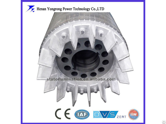 Oem Customized Silicon Steel Stator Rotor For Motor And Generator