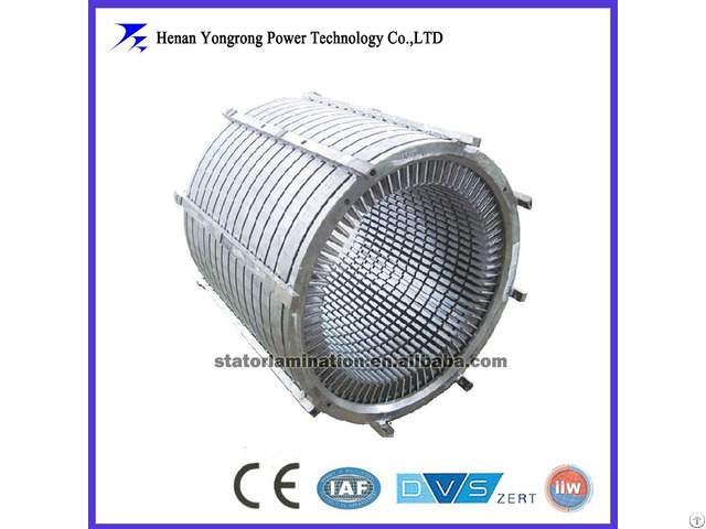 Ie3 High Efficiency Hydro Generator Electrical Steel Stator And Rotor Iron Core