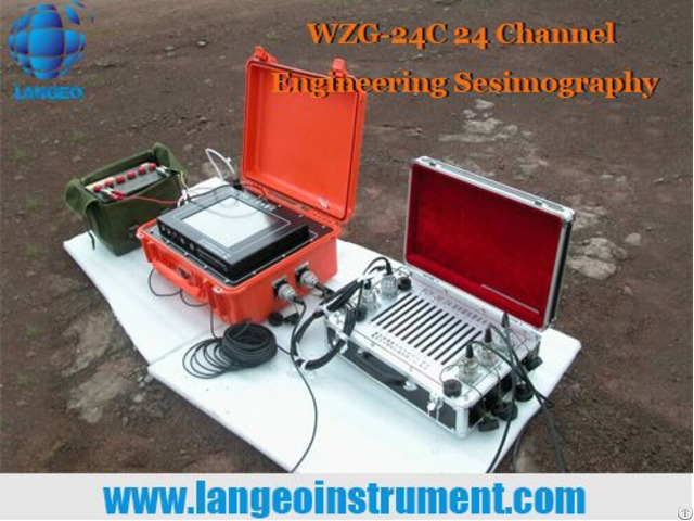 Langeo Wzg 6b 12a Masw Seismography For City Enginnering Survey