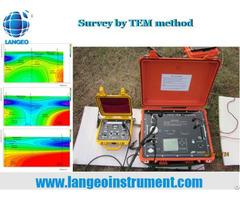 Langeo Wtem 2 Gps Deep Transient Electromagnetic System