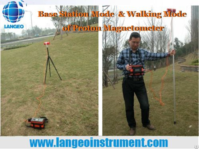 Langeo Wcz 1b Digital Proton Magnetometer For Gold Exploration