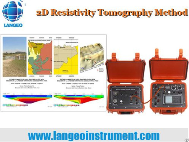 Langeo Wgmd 4 120 Dc Multi Electrode Resitivity Tomography System