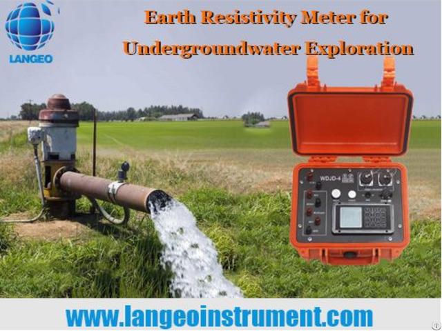 Langeo Wdds 3 Earth D C Resistivity Meter